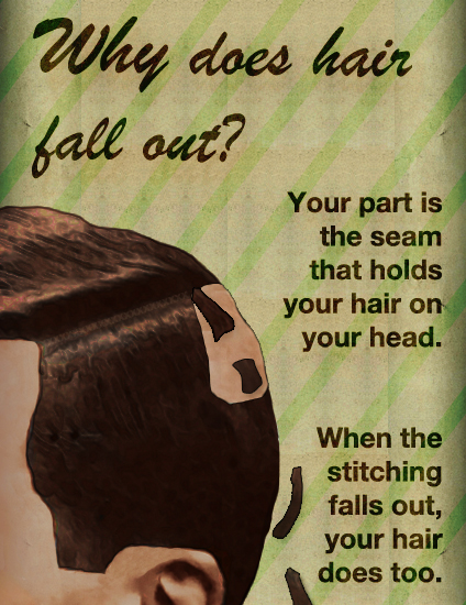 Why Does Hair Fall Out?